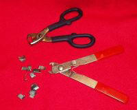 j-clip pliers for building rabbit cages for Dutch and other breeds