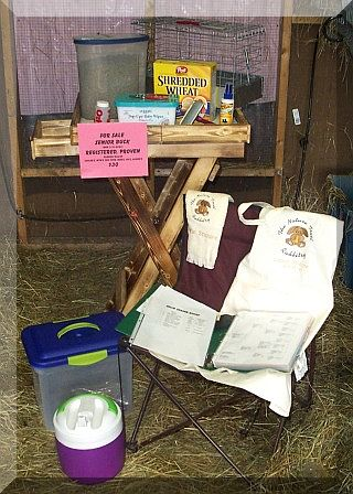 supplies to bring to a rabbit show